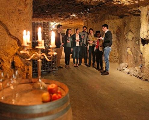 Loirevalley-visite cave et degustation vin en Loire Valley